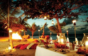 Events and Weddings in Private island